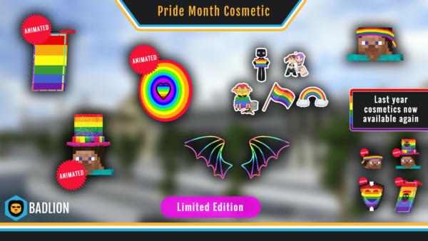 2020 Badlion Client Pride Cosmetics
