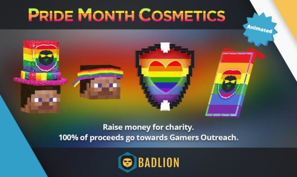 Badlion Client Pride Month Cosmetics